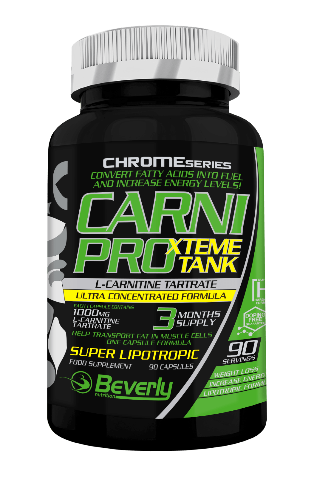 Carnitina Beverly Nutrition