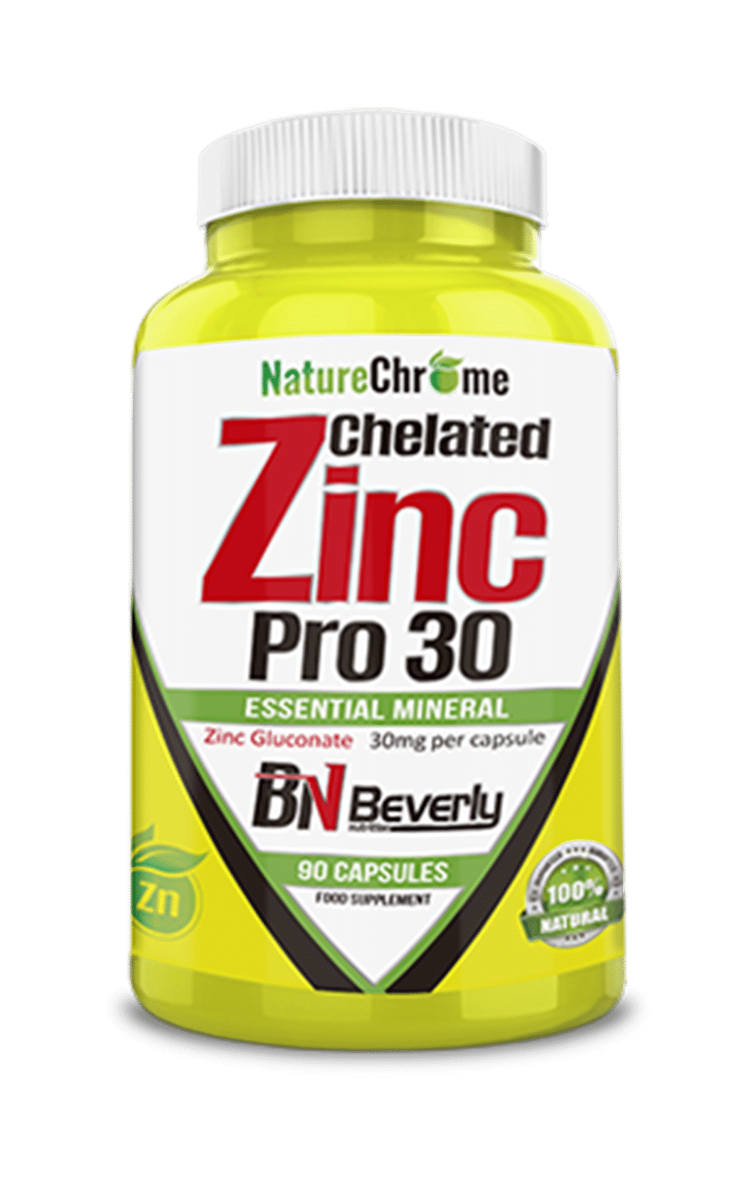 Zinc Chelated Beverly Nutrition