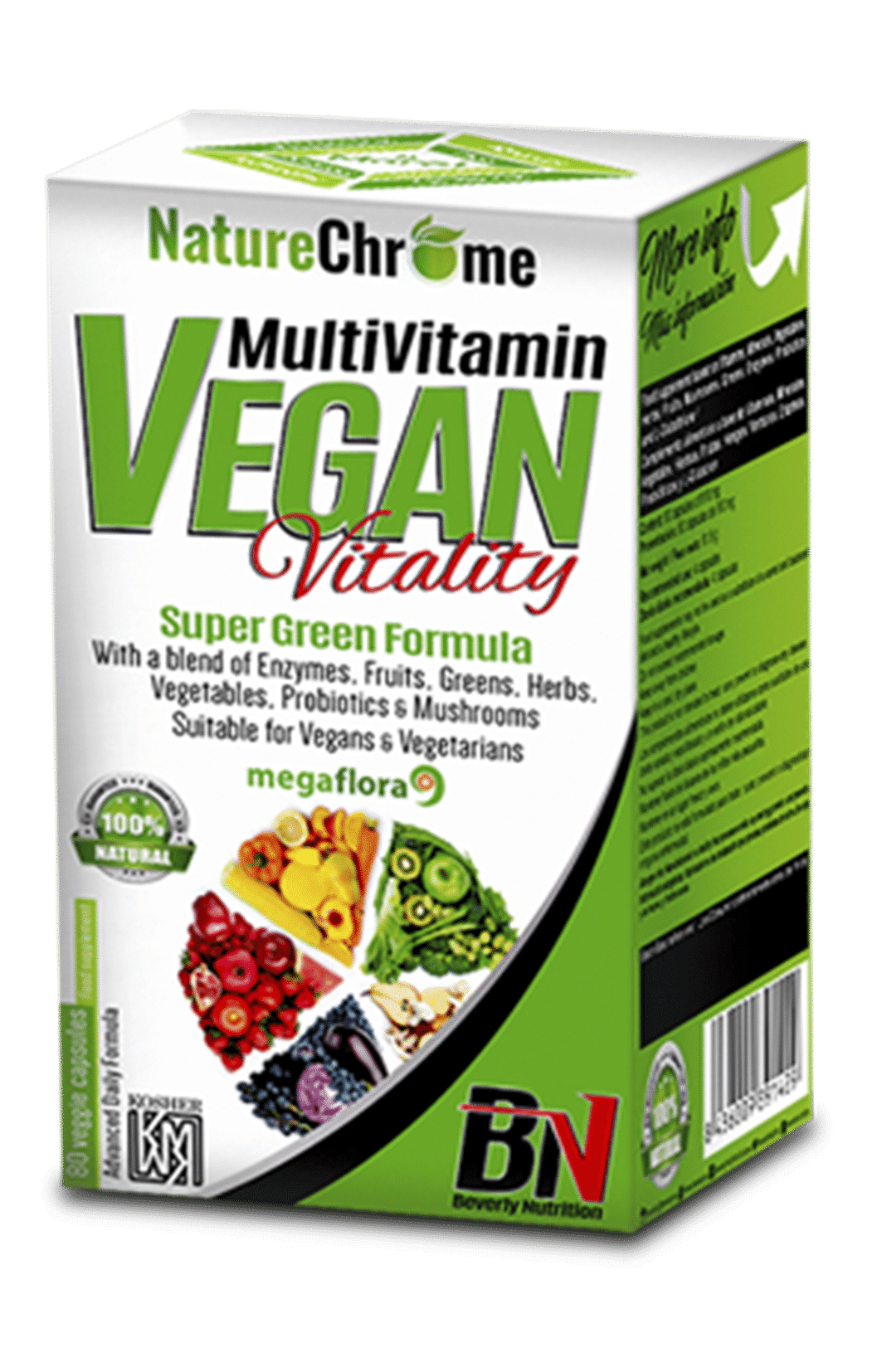Multivitamínico Vegan Beverly Nutrition