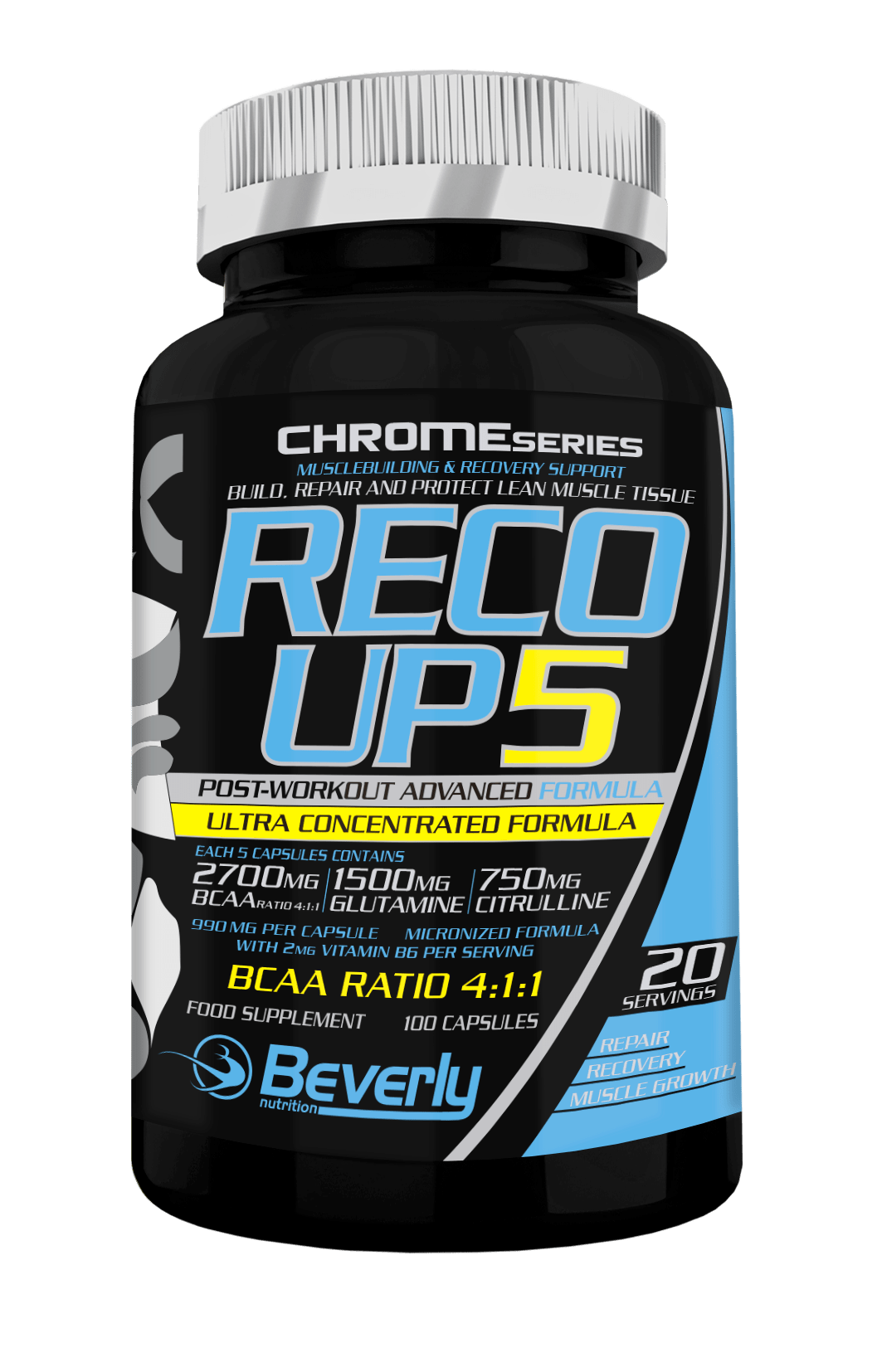 BCAA 411 Post Workout Beverly Nutrition