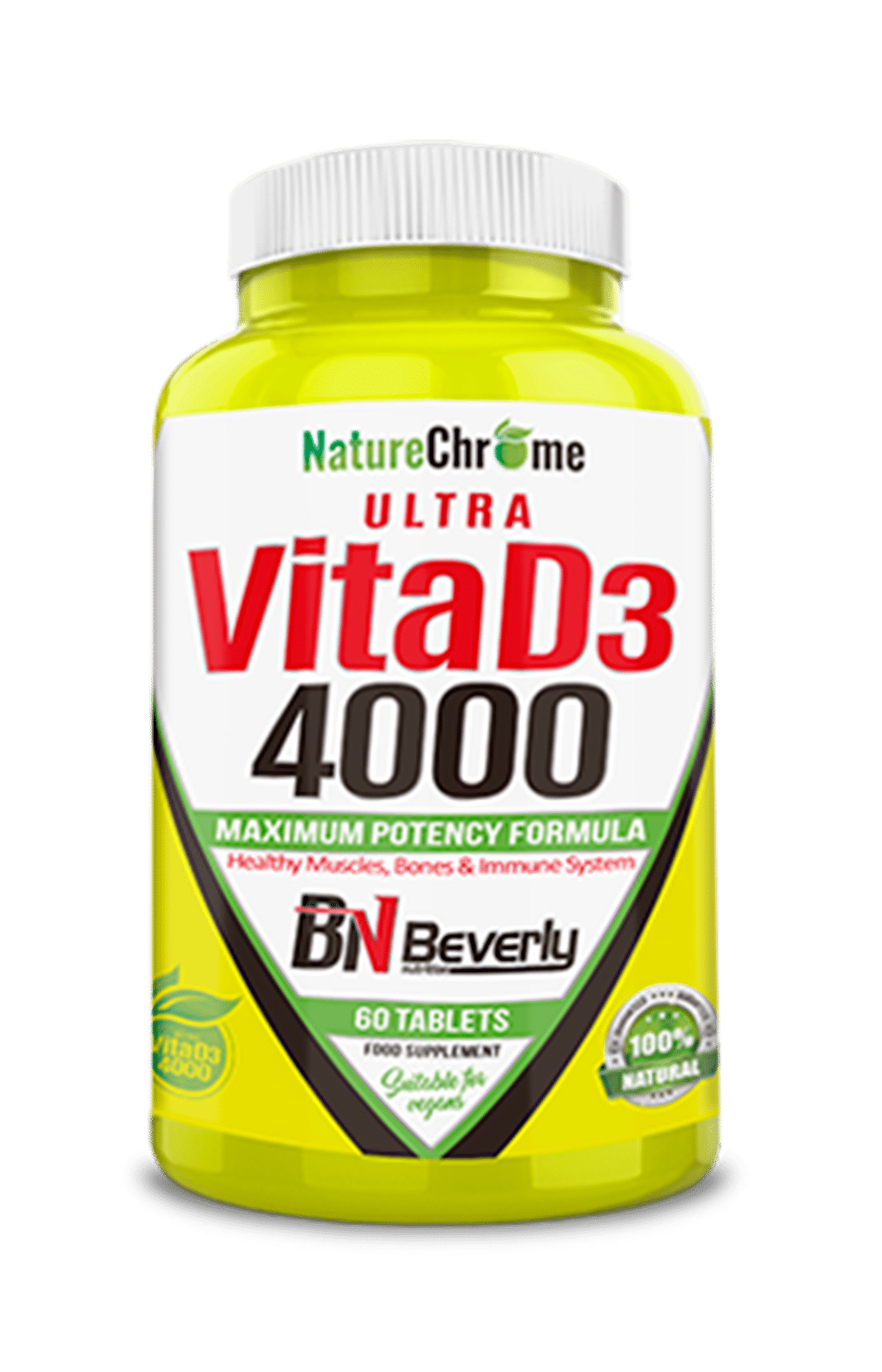 Vitamina D3 Beverly Nutrition