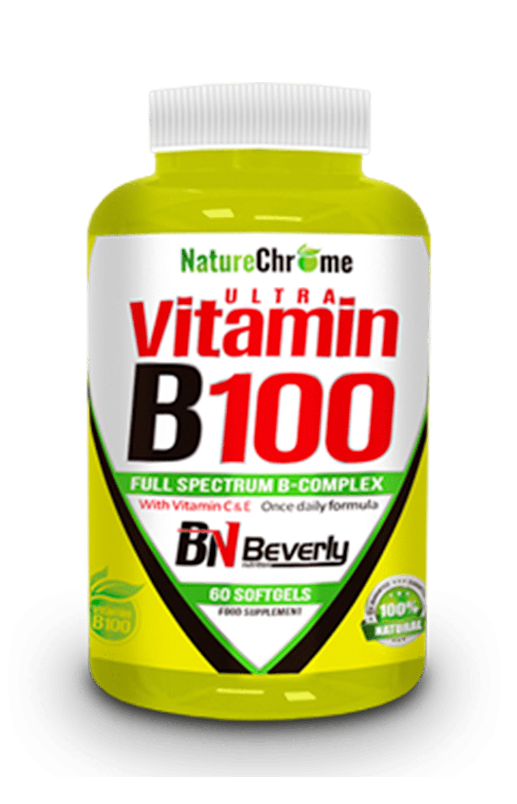 Vitamina B100 Beverly Nutrition