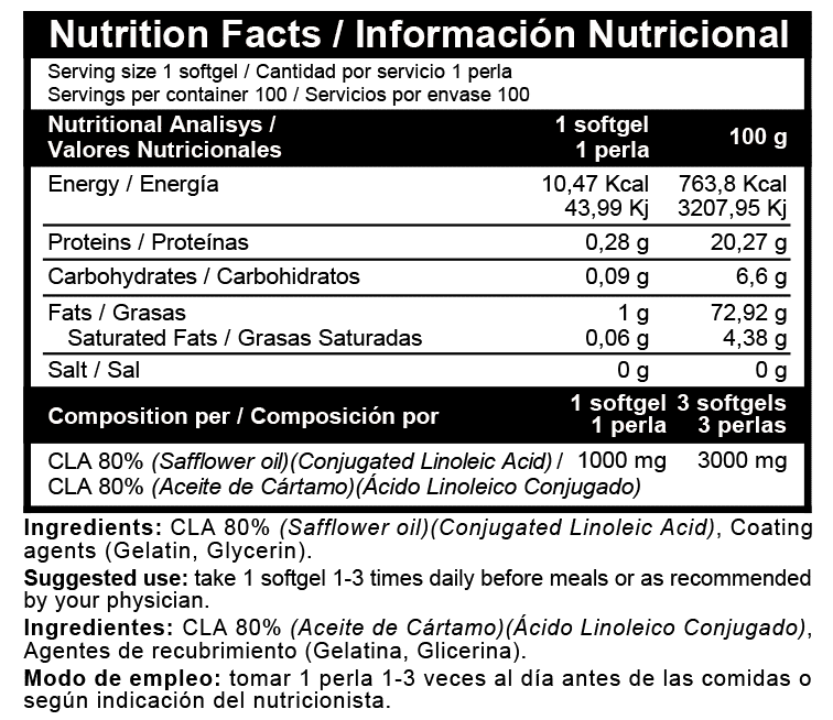 Acido Linoléico Beverly Nutrition