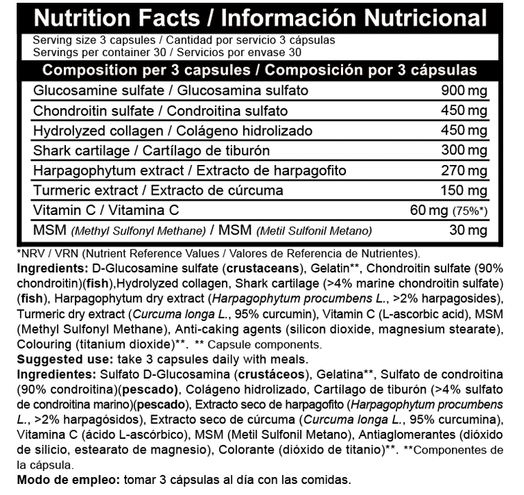 Clucosamina Beverly Nutrition