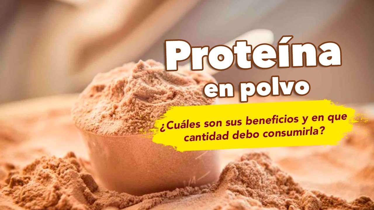 comprar proteína en polvo