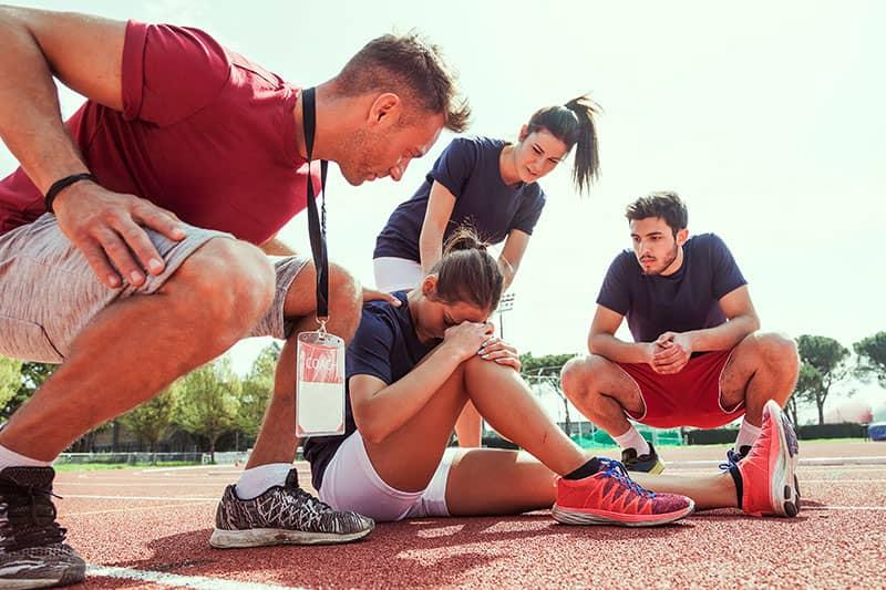 lesiones en el entrenamiento