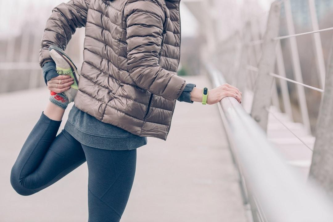 Cómo entrenar al aire libre en invierno