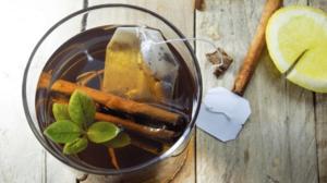 infusión para adelgazar de canela, ajo y limón
