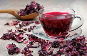 infusión para adelgazar de hibisco