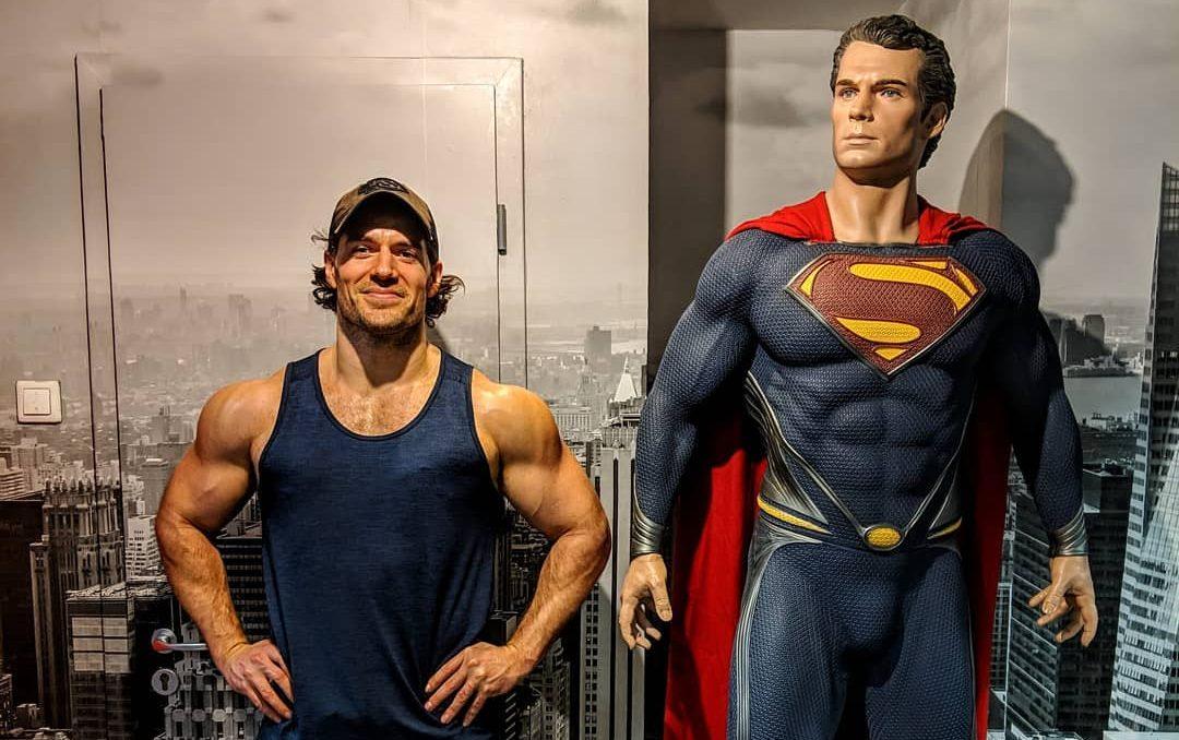Henry Cavill para ganar masa muscular
